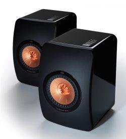 KEF LS50 Bookshelf Speakers